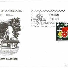 Timbres: SOBRE PRIMER DÍA. ESPAÑA EXPORTA. EXPORTACIÓN DE AGRIOS 30 SET 1981. Lote 219543107