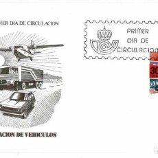 Timbres: SOBRE PRIMER DÍA. ESPAÑA EXPORTA. EXPORTACIÓN DE VEHÍCULOS 30 SET 1981. Lote 219543822
