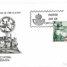 Timbres: SOBRE PRIMER DÍA. MUSEO POSTAL TELEGRAFÍA 30 NOV 1981. Lote 219544450