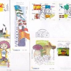 Sellos: 2009 AÑO COMPLETO CON 56 SOBRES Y SELLOS DEL PRIMER DIA DE ESPAÑA EN PERFECTO ESTADO. Lote 219740605