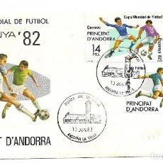 Sellos: SOBRE ESPANYA 82. PRINCIPAT D'ANDORRA. Lote 220780658