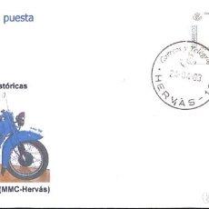 Sellos: SOBRE CON ATM MOTOCICLETAS HISTORICAS NIMBUS 750,1939. Lote 220915488