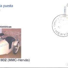 Sellos: SOBRE CON ATM MOTOCICLETAS HISTORICAS MONET GOYON LB,1932. Lote 220915611