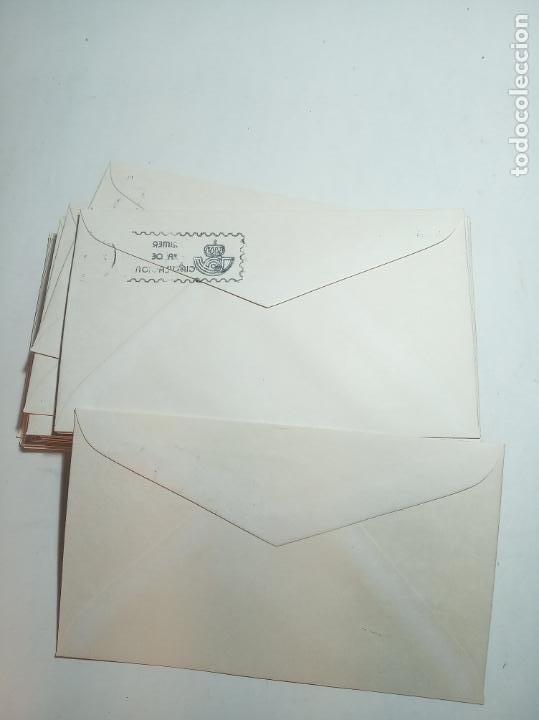 Sellos: Lote de 43 sobres reyes de España. Casa de Borbón. Primer día de circulación. Dif. sellos 22.11.78 - Foto 4 - 221153026