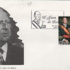 Timbres: 1993 ED 3264 DON JUAN DE BORBON , ALFIL SOBRE PRIMER DIA SPD. Lote 221406443