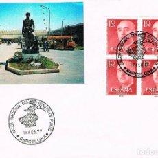 Sellos: AÑO 1977, SALON NACIONAL DEL GENERO DE PUNTO. Lote 221598356