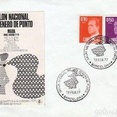 Sellos: AÑO 1977, SALON NACIONAL DEL GENERO DE PUNTO. Lote 221598437