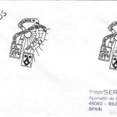 Sellos: SOBRE: 1994 ONDA. 25 ANIV. VIRGEN DEL CARMEN. Lote 221613050