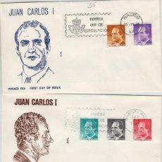Timbres: 1985 ED 2794/801 SERIE BÁSICA , D. JUAN CARLOS I REY . SOBRE ALFIL PRIMER DIA SPD. Lote 221761905