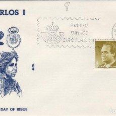 Timbres: 1986 ED SERIE BÁSICA , D. JUAN CARLOS REY . SOBRE ALFIL PRIMER DIA SPD. Lote 221815557