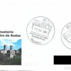 Sellos: ESPAÑA. MATASELLOS ESPECIAL MONASTERIO SAN PEDRO DE RODAS. 2020. Lote 222521563