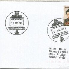 Sellos: VILANOVA I GELTRU BARCELONA CC CON MAT TURISTICO BIBLIOTECA MUSEO VICTOR BALAGUER. Lote 222689225