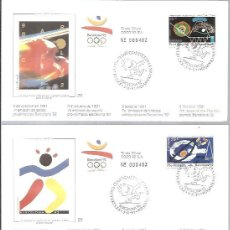 Francobolli: OLIMPIADA BARCELONA 92. Lote 224687755