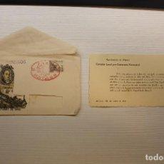 Selos: EDIFIL 1037-1039 CENTENARIO DEL FERROCARRIL 1948. SOBRE DÍA DEL SELLO. CENTº CARRIL DE MATARÓ. Lote 224727015