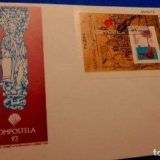 Sellos: SOBRE DE PRIMER DIA, 1993 SANTIAGO DE COMPOSTELA / COMPOSTELA 93. Lote 225911875