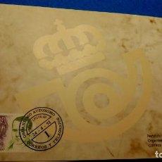 Francobolli: SOBRE DEL ORGANISMO AUTÓNOMO DE CORREOS Y TELEGRAFOS. Lote 225913237