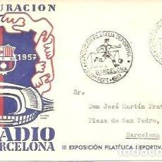 Francobolli: MATASELLOS 1957 C,F BARCELONA. Lote 227653275