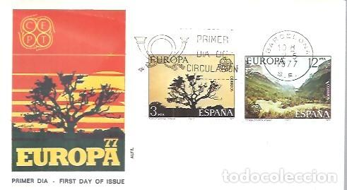FDC 1977 ALFIL (Sellos - Historia Postal - Sello Español - Sobres Primer Día y Matasellos Especiales)