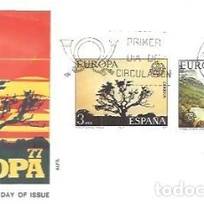 Francobolli: FDC 1977 ALFIL. Lote 227653465