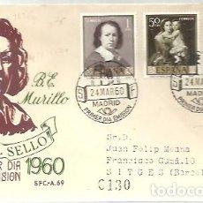 Francobolli: FDC 1962 MURILLO. Lote 229012505