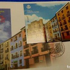 Sellos: SOBRE DE PRIMER DIA, 2º CENTENARIO - 2018, PATRIMONIO ARTÍSTICO. CASAS DE COLORES, CUENCA. Lote 229778505