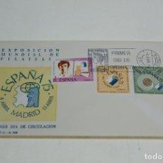 Sellos: LOTE DE 11 SOBRES EXPOSICIÓN MUNDIAL DE FILATELIA. PRIMER DÍA DE CIRCULACIÓN. 4 DE ABRIL DE 1974.. Lote 230328875