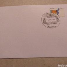 Sellos: MATASELLO TURÍSTICO NACIMIENTO DEL RÍO MUNDO OFICINA POSTAL RIOPAR ALBACETE. Lote 268818319