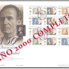 Sellos: SOBRES PRIMER DÍA. ESPAÑA AÑO 2000. AÑO COMPLETO.. Lote 232769740