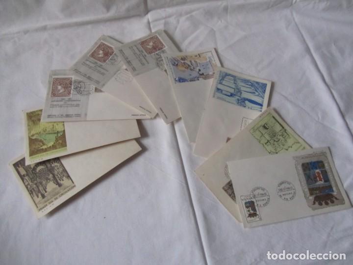 Sellos: 188 sobres de primer día años sesenta y principios de los 70 - Foto 18 - 233539525