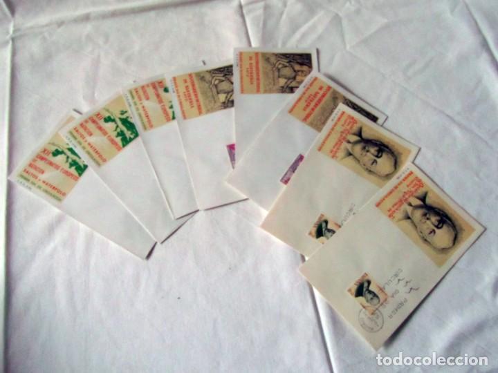 Sellos: 188 sobres de primer día años sesenta y principios de los 70 - Foto 20 - 233539525