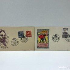Francobolli: 2 SOBRES DE PRIMER DIA DE CIRCULACION - 1960. Lote 234628455