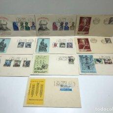 Francobolli: LOTE DE SOBRES DE PRIMER DIA DE CIRCULACION - 1963. Lote 234628925
