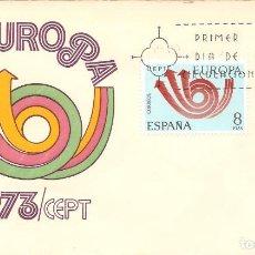 Sellos: SPD -FDC, ESPAÑA, 1973, TEMA EUROPA. Lote 235464560