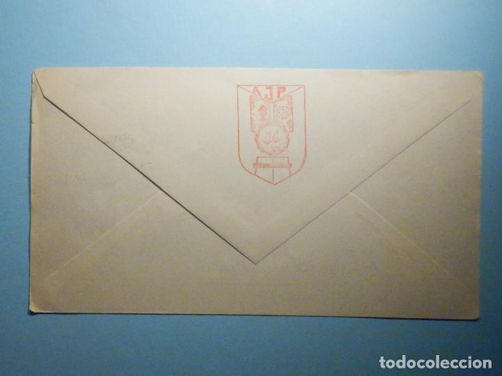 Sellos: Sobre Conmemorativo - II Exposición Filatélica Numismática y Coleccionismo - Port Bou - Gerona 1972 - Foto 2 - 235502135