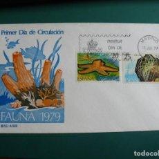 Francobolli: SOBRE PRIMER DIA 1979 ESPAÑA FAUNA. Lote 235836240