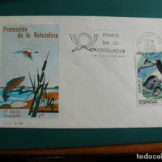 Francobolli: SOBRE PRIMER DIA 1978 ESPAÑA NATURALEZA. Lote 235836440