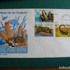 Francobolli: SOBRE PRIMER DIA 1979 ESPAÑA FAUNA 3. Lote 235836625
