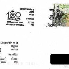 Sellos: ESPAÑA. SOBRE PRIMER DIA. CENTENARIO DE LA LEGION. 2020. Lote 236314460