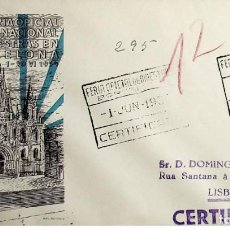 Sellos: 1953 ESPAÑA XII FERIA OFICIAL Y INTERNACIONAL DE MUESTRAS EN BARCELONA - EXPOSICIÓN FILATELICA. Lote 236842145