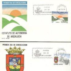 Sellos: ESPAÑA. SPD 2686/91. AÑO 1983. ESTATUTOS DE AUTONOMÍA.. Lote 236842400
