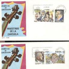 Sellos: ESPAÑA. SPD 2697/2702. AÑO 1983. MAESTROS DE LA ZARZUELA.. Lote 236842635