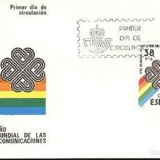 Sellos: ESPAÑA. SPD 2709. AÑO 1983. AÑO MUNDIAL DE LAS COMUNICACIONES.. Lote 236842935