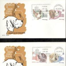 Sellos: ESPAÑA. SPD 2711/14. AÑO 1983. PERROS DE RAZA ESPAÑOLA.. Lote 236843060