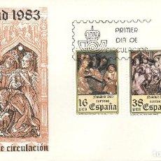 Sellos: ESPAÑA. SPD 2729/30. AÑO 1983. NAVIDAD.. Lote 236843555