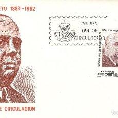 Sellos: ESPAÑA. SPD 2731. AÑO 1983. CENTENARIO DEL NACIMIENTO DE INDALECIO PRIETO.. Lote 236843620