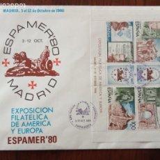 Sellos: 1980.SPD.EXPOSICION FILATELICA DE AMERICA Y EUROPA,80.. Lote 236888240