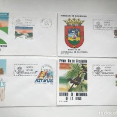 Sellos: SPD ESPAÑA AÑO 1983 AÑO COMPLETA FDC YEAR 1983 SPAIN. Lote 238259555