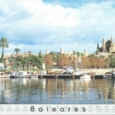Sellos: 1995. TARJETA DEL CORREO Nº5 TARIFA B. PALMA DE MALLORCA. BALEARES. CATEDRAL. MATASELLO PRIMER DÍA.. Lote 244610410