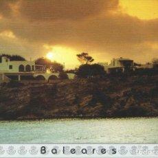 Sellos: 1995. TARJETA DEL CORREO Nº14. TARIFA B. IBIZA. BALEARES. PUESTA DE SOL. MATASELLOS PRIMER DÍA.. Lote 244611105
