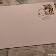 Timbres: MATASELLO TURÍSTICO CAMINO DE SANTIAGO OFICINA POSTAL CORREOS DE SARRIA PROVINCIA DE LUGO. Lote 245105555
